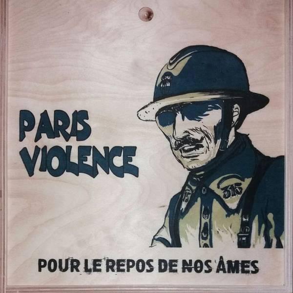 Paris Violence – Pour Le Repos De Nos Âmes, lim. 150 singlesided LP Box deutsche Version
