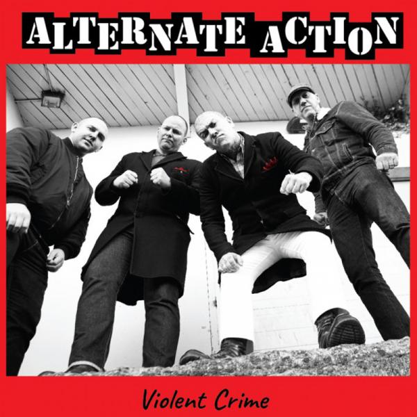 """Alternate Action - Violent crime, 12"""" lim. 1000 verschiedene Farben"""