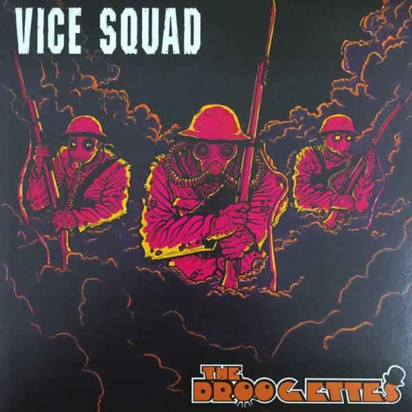 """Vice Squad / Droogettes, the - Split, 7"""" lim. 500 verschiedene Farben"""