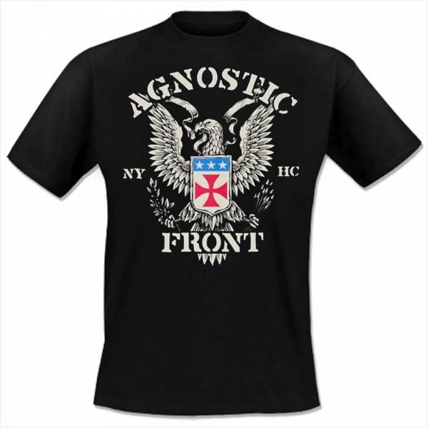 Agnostic Front - Eagle Crest, T-Shirt schwarz