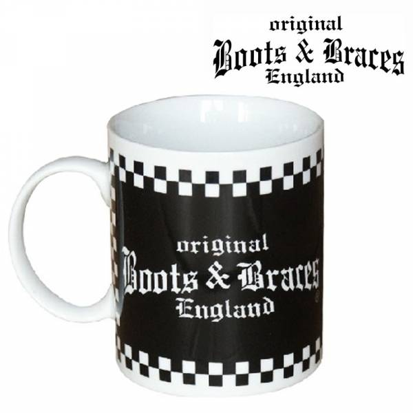 Boots & Braces - Logo, Tasse