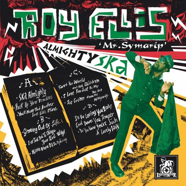 Roy Ellis - Ska Almighty, CD Mr. Symarip