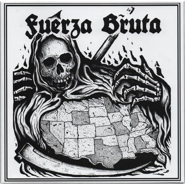 Fuerza Bruta - Somos El Mal, 7'' schwarz 2. Pressung