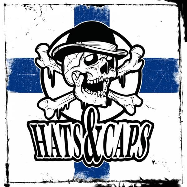 """Hats & Caps - s/t, 7"""", lim. 300, verschiedene Farben"""
