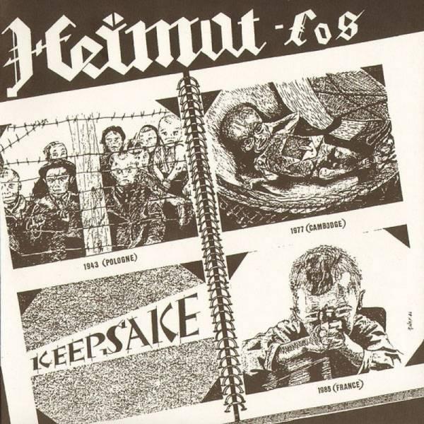 Heimat-los / Kromozom 4 - s/t, 7'' lim. 970 schwarz