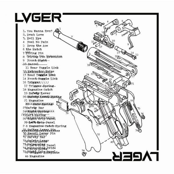 Lvger - Lvger, 12'' lim. verschiedene Farben