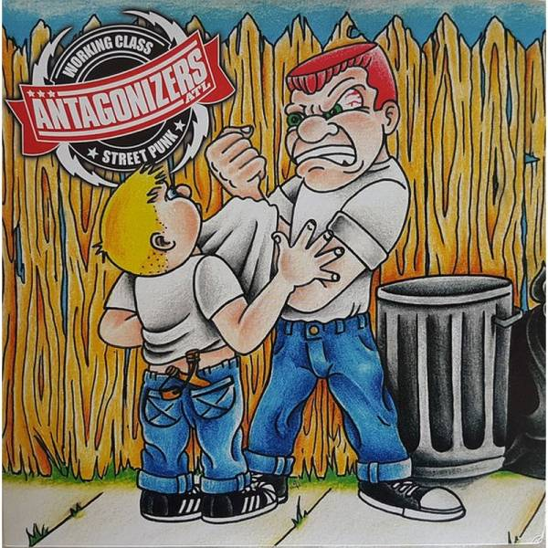 Antagonizers ATL / Warning Shots, The - s/t , 7'' lim. 400 rot