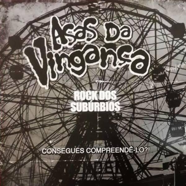 """Asas Da Vinganca - Dor e gloria / Rock dos Suburbios, 7"""" lim. 100 Cover 1"""