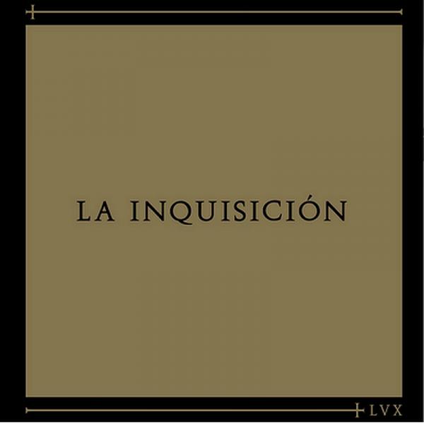 La Inquisición - LVX, 12'' schwarz (LIMITIERTES COVER)