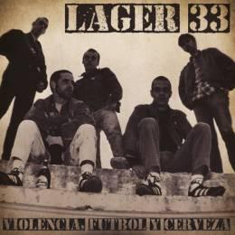 Lager 33 - Violencia, Futbol Y Cerveza, LP lim. 250 black