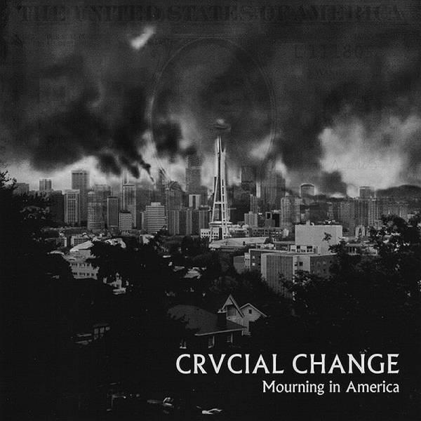 Crucial Change - Mourning in America, 7'' lim. 500, verschiedene Farben