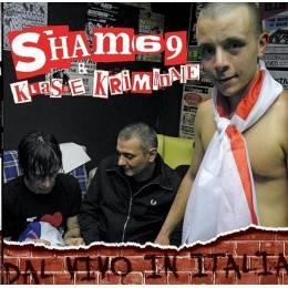 Sham 69 / Klasse Kriminale – Dal Vivo In Italia, LP lim. 500 black