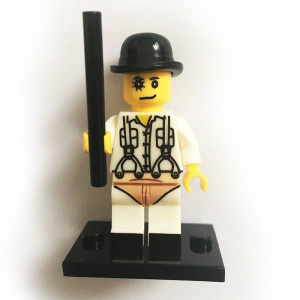 Clockwork Orange - Alex, Figur customized Lego