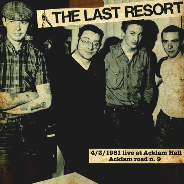 Last Resort, The - 4/3/1981 live at Acklam Hall, LP 2. Pressung lim. verschiedene Farben