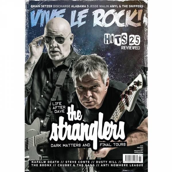 Vive Le Rock #85 - The Stranglers, Magazin A4
