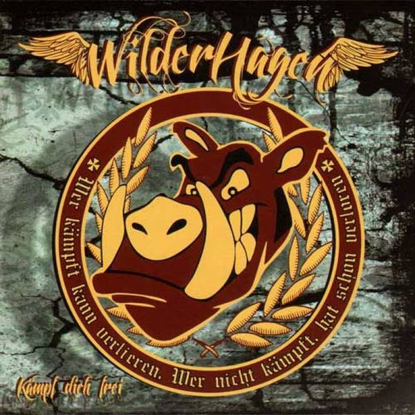WilderHagen – Kämpf Dich Frei, CD