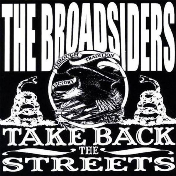 Broadsiders, The - Take Back The Streets, LP schwarz