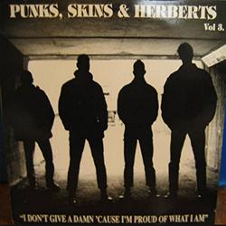 V/A Punks, Skins & Herberts Vol. 3, LP schwarz BESCHÄDIGT
