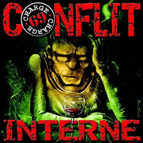 Charge 69 - Conflit Interne, LP schwarz