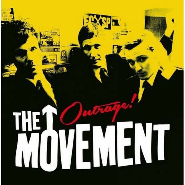 Movement, The - Outrage!, 7'' schwarz