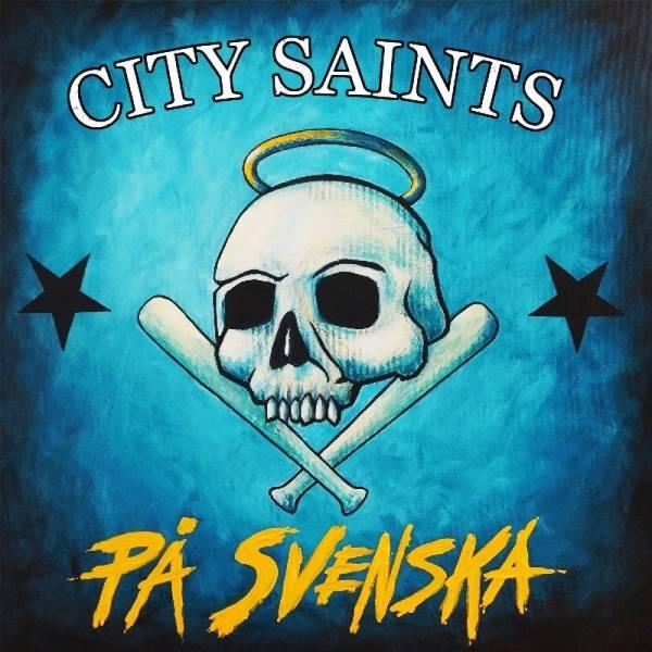 City Saints - Pa Svenska, LP + CD, lim. 500 verschiedene Farben