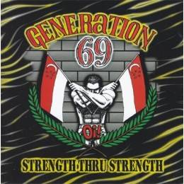 Generation 69 - Strength thru strength, CD