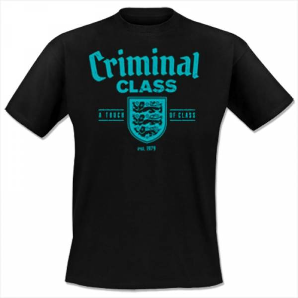 Criminal Class - England, T-Shirt