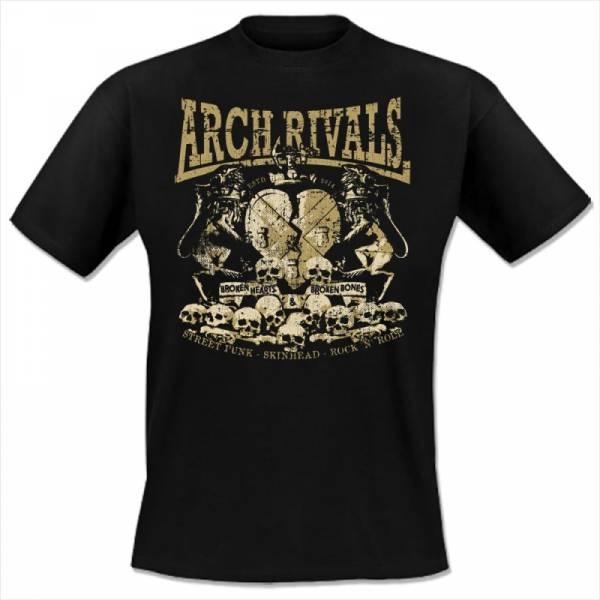 Arch Rivals - Broken hearts and broken bones, T-Shirt schwarz