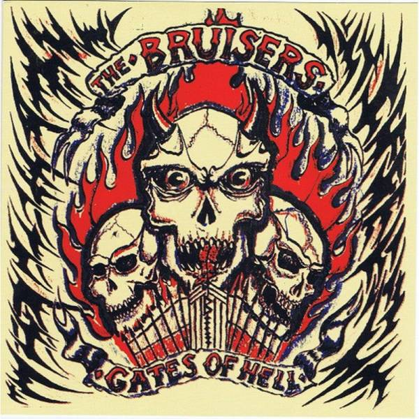 Bruisers, The - Gates of hell, 7'' lim. 400 schwarz