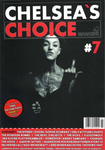Chelsea's Choice No. 7, Fanzine A4 + Flexi deutschsprachig