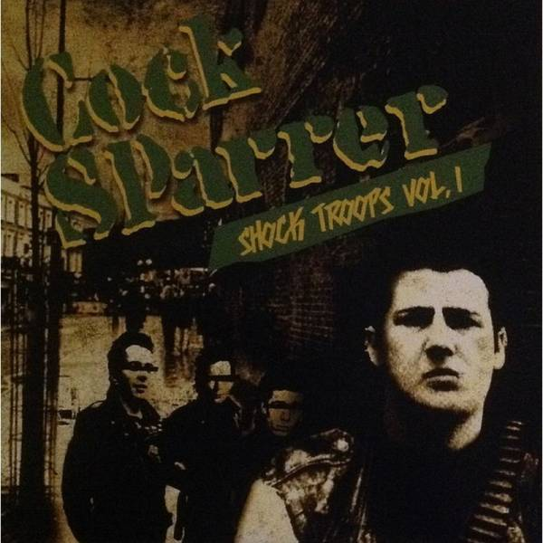 Cock Sparrer - Shock Troops Vol. I , 2 x 7'' Gatefold schwarz