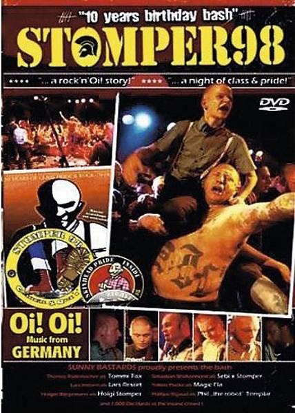 Stomper 98 - 10 years of Birthday Bash DVD+CD lim. Sonder-Edition