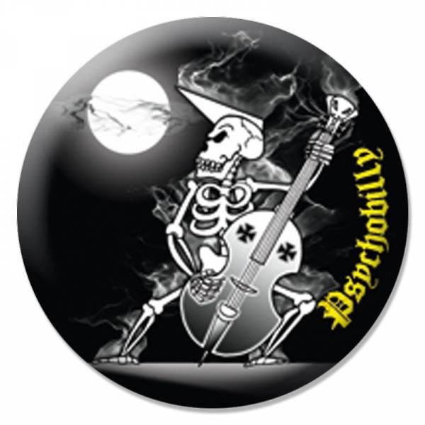 Psychobilly - Skelett, Button B092