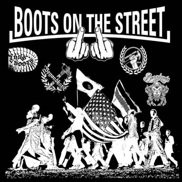 V/A - Boots on the street Vol. 2, LP purple splatter