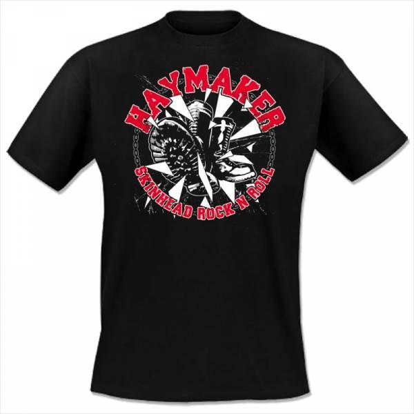 Haymaker - Boots, T-Shirt schwarz