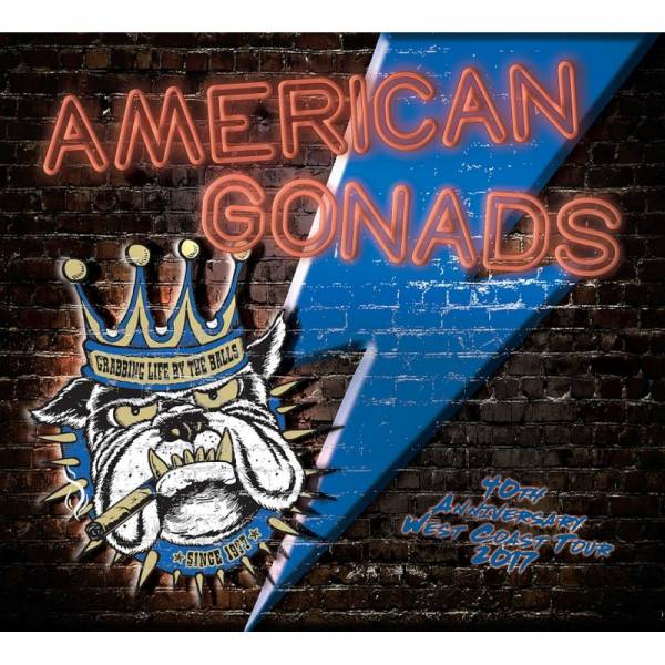 Gonads - American Gonads (40th anniversary west coast tour), CD Digipack