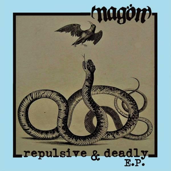 "Nagön - Repulsive & deadly E.P., 7"" lim. 334 verschiedene Farben"