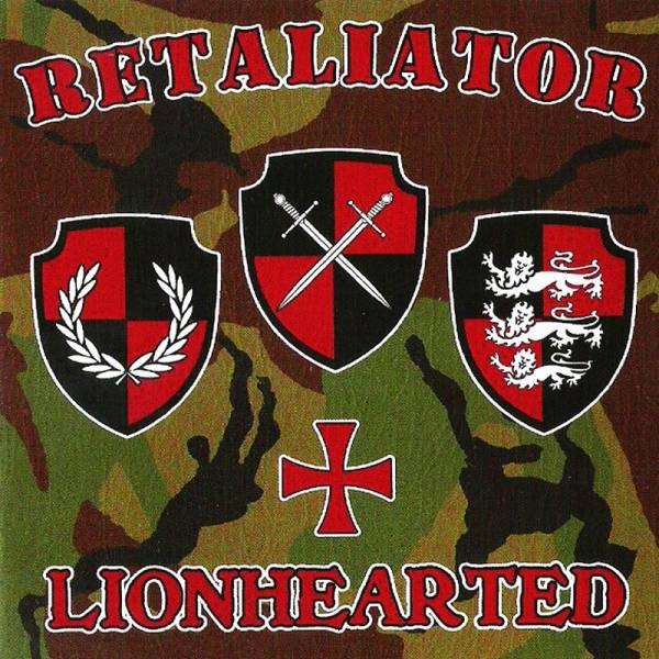 Retaliator ‎– Lionhearted , CD