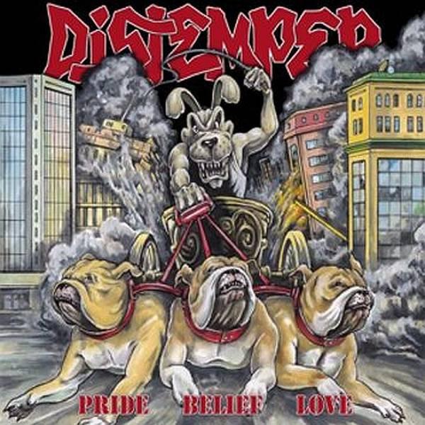 Distemper - Pride belief love, CD