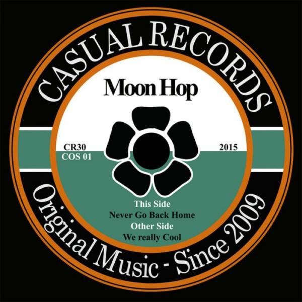 Moon Hop - Never go back home 7'' lim. 500 schwarz