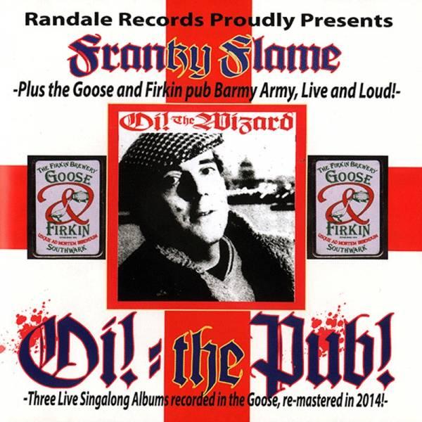 Franky Boy Flame - Oi! the Pub songs, DoCD