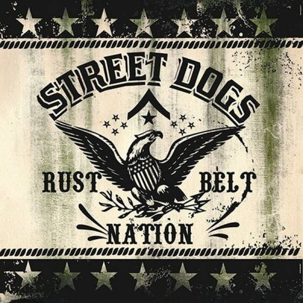 Street Dogs ‎– Rust Belt Nation , 7'' EP lim. green swamp + DL Code