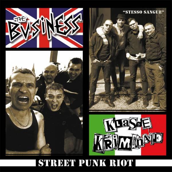 V/A Street Punk Riot - The Business, Klasse Kriminale, Il Complesso, 7'' lim. 200 verschiedene Farb