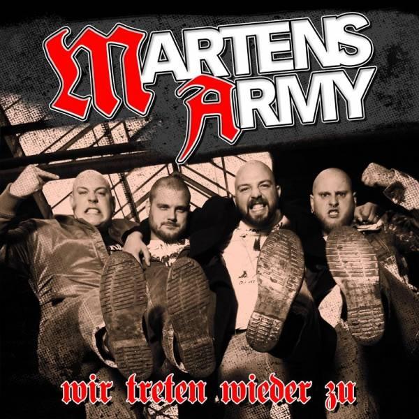 Martens Army - Wir treten wieder zu, CD