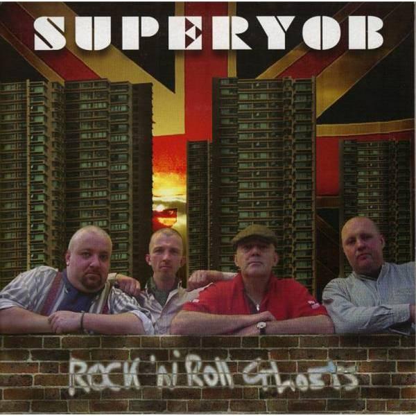 Superyob - Rock 'n' Roll Ghosts, 7'' lim. 750 schwarz