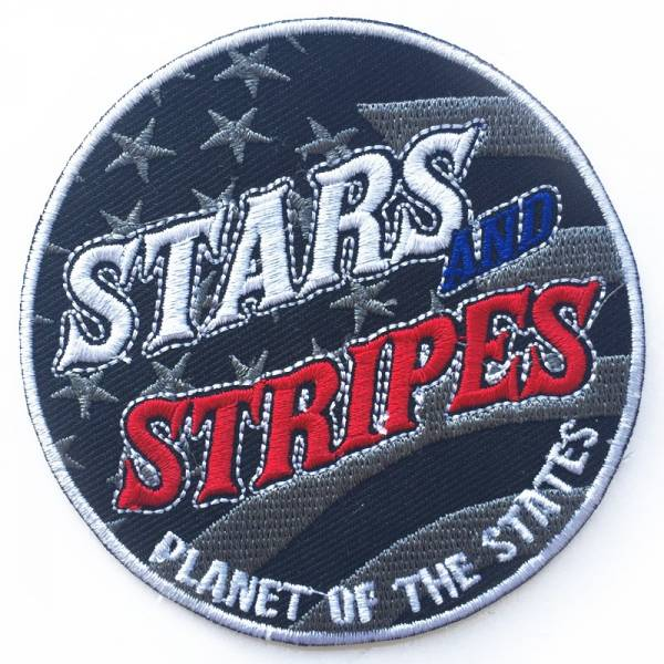 Stars And Stripes - Planet of the States, Aufnäher