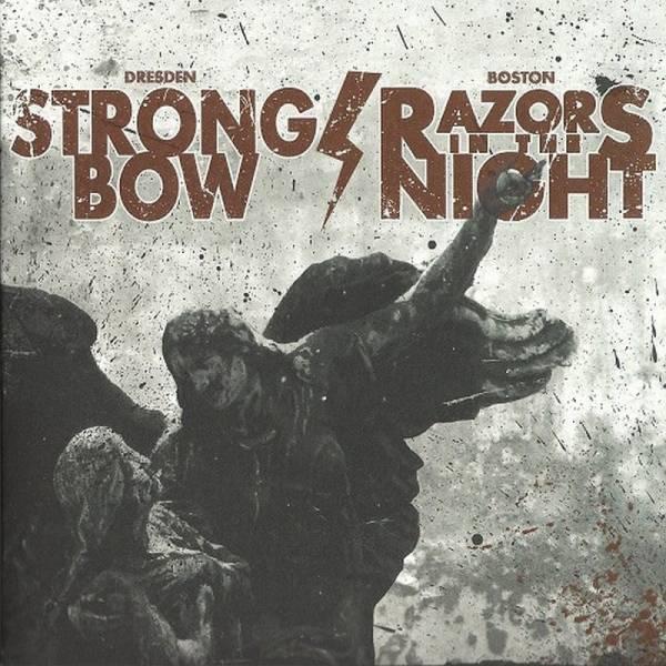 Strongbow / Razors in the Night - Dto., 7'' lim. 250 blau/schwarz splatter