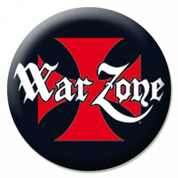 Warzone - Logo, Button B130