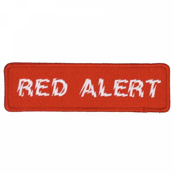 Red Alert - Logo, Aufnäher