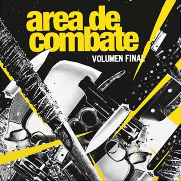 Area De Combate - Volumen final, LP lim. 290 schwarz + Insert + Sticker + Poster